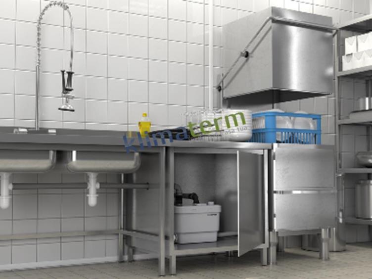 Sfa sanitrit cassetta trituratrice mod sanispeed - Sanitrit cucina ...