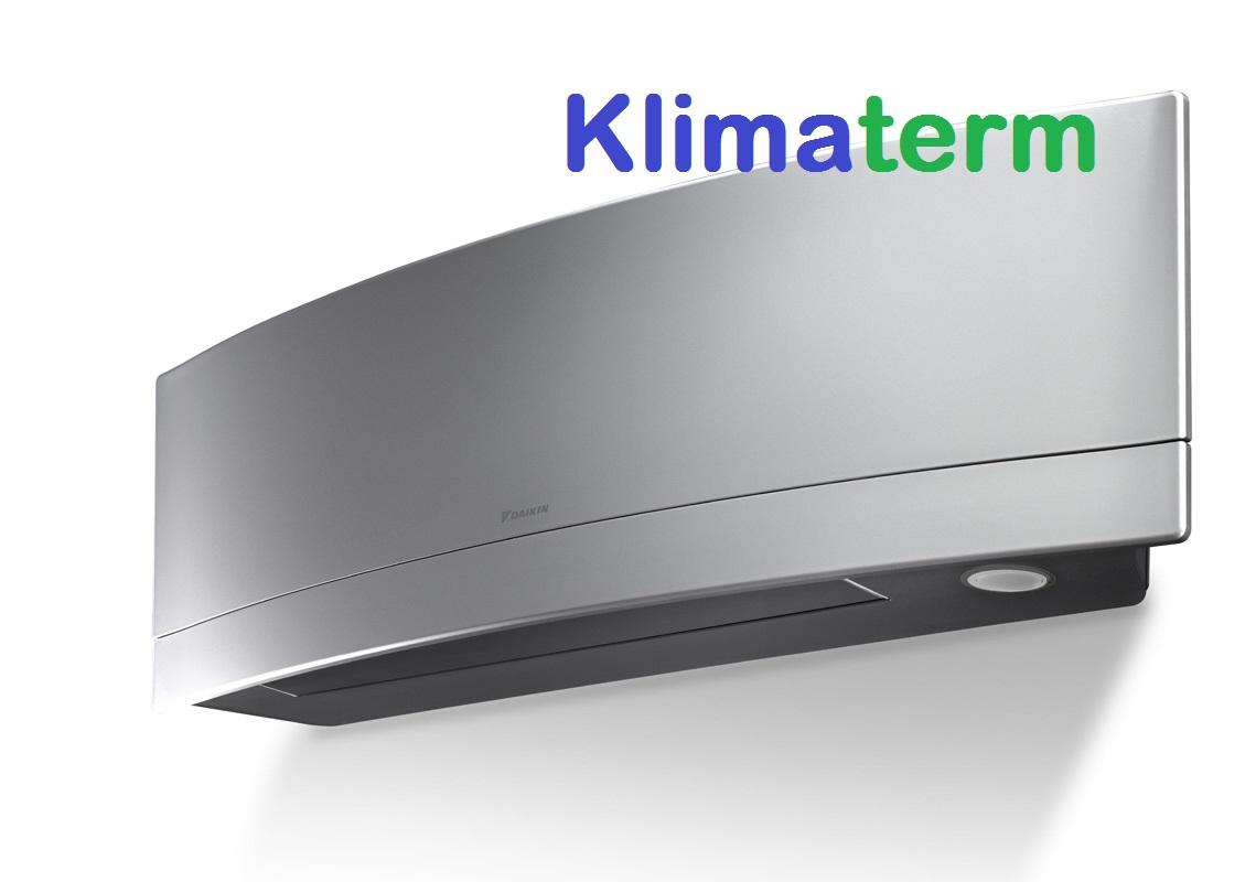 Climatizzatore Daikin Mono Inverter Emura A+++ Silver FTXJ35MS Wi-fi OMAGGIO GARANZIA KIZUNA UFFICIALE DAIKIN ITALIA RADDOPPIA 2+2 TOTALE DI 4 ANNI DI SERENITA' 12000BTU Gas R-32 - BLUEVOLUTION - Ultimo modello 2018!!