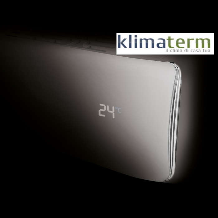 CLIMATIZZATORE Unical INVERTER AIR CRISTAL mod. CMUN 10H 10000 btu Un.Interna CMUN 10HI + Un.Esterna CMUN 10HE CLASSE A++ (WIFI OPTIONAL) Garanzia 5 Anni Gratuita!!!