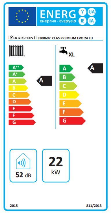 Caldaia a condensazione ariston clas premium evo eu 24 ff for Clas premium evo eu