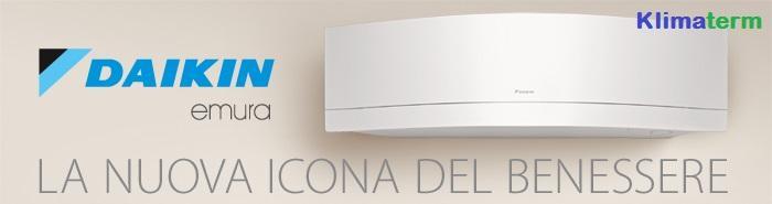 Climatizzatore Daikin Mono Emura A+++ Bianco FTXJ20MW 7000BTU OMAGGIO GARANZIA KIZUNA UFFICIALE DAIKIN ITALIA RADDOPPIA 2+2 TOTALE DI 4 ANNI DI SERENITA' Inverter Wi-fi Gas R-32 - BLUEVOLUTION - Ultimo modello!!