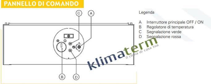 Scaldino scaldabagno a gas camera stagna riello mini 13 lt - Scaldabagni a gas a camera stagna ...