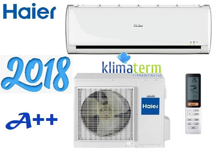 Climatizzatore Condizionatore Haier inverter serie GEOS 12000 btu AS12TA2HRA Classe A++ NUOVA SERIE PLUS 2018!!!!