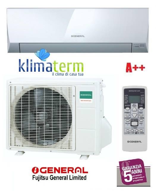 Climatizzatore Condizionatore General Fujitsu ASHG12LLCC+AOHG12LLCC Mono Split Serie LLC 12000 Btu Classe A++