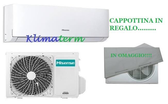 Climatizzatore Condizionatore HISENSE NUOVA SERIE COMFORT 9000 btu Monosplit Inverter Classe A++ OMAGGIO CAPPOTTINA UNITA