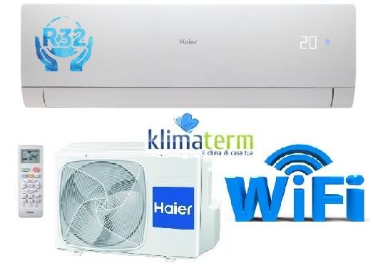 Climatizzatore Haier NEBULA GREEN 12000 BTU Bianco WiFi Gas R32 - AS35S2SN2FA NUOVA SERIE!!! Inverter A+++ White