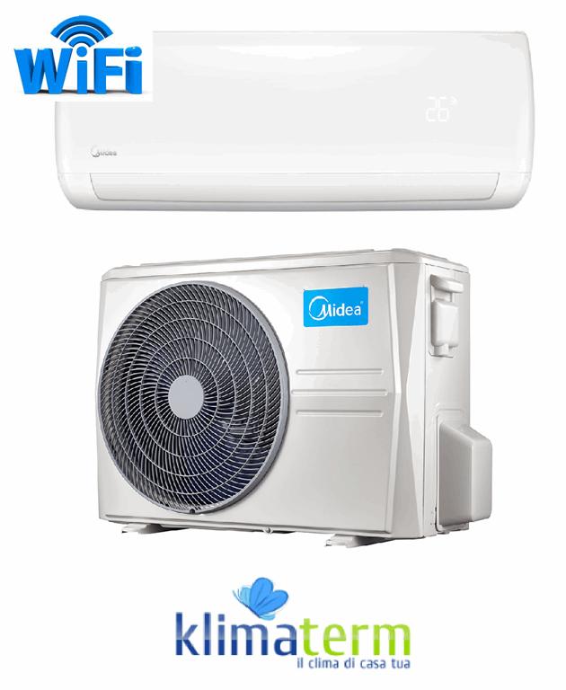 Climatizzatore Condizionatore Midea Mission 12000 btu WF 35 Classe A+++/A++ WiFi optional