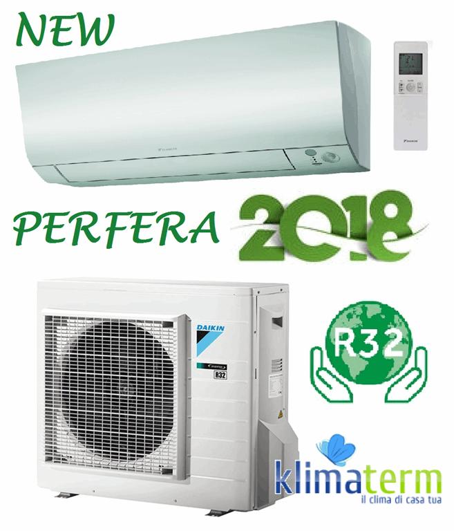 Climatizzatore Daikin Mono 7000btu Serie FTXM PERFERA 2018 FTXM20-M A+++ Gas R32  Wi-fi opzionale Bluevolution