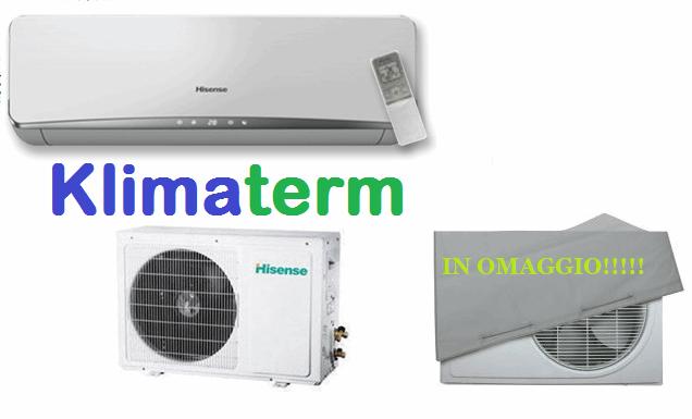 Climatizzatore Condizionatore HISENSE SERIE EASY 12000 btu Monosplit Inverter Classe a+ OMAGGIO CAPPOTTINA UNITA