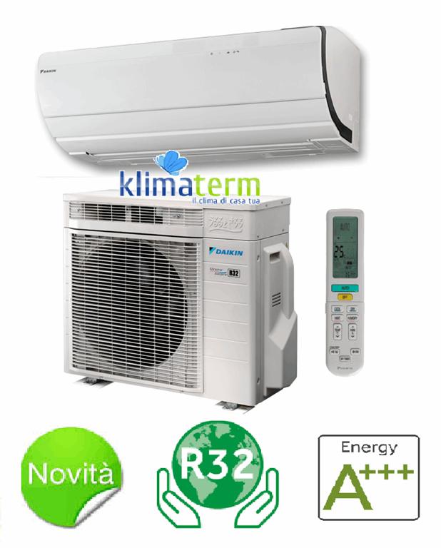 Climatizzatore Condizionatore Monosplit Inverter Ururu Sarara 18000 btu A+++ FTXZ50N/RXZ50N Gas R-32 - BLUEVOLUTION - Ultimo modello!! ATTENZIONE GARANZIA ITALIA 4 ANNI !!