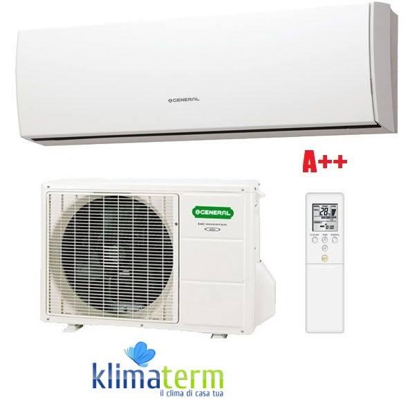 Climatizzatore condizionatore ASHG LUCA 9000 btu bianco classe A++ inverter gas R410A