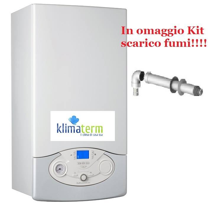 Caldaia a Condensazione Ariston Clas Premium Evo L 30 eu  nuova tecnologia ERP completa kit scarico fumi