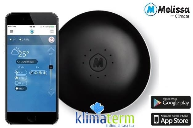 Scheda WiFi Controller MELISSA Controllo del climatizzatore tramite WiFi compatibile con serie FTXB-RXB ECOPLUS
