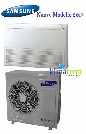 Climatizzatore Condizionatore Samsung LINEA COMMERCIALE Pavimento/Soffitto 24000 BTU AC071MNCDKH INVERTER classe A+/A