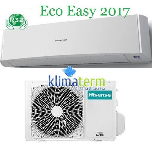 Climatizzatore Condizionatore Nuova SERIE ECO EASY 9000 btu Monosplit TA25YY00G Inverter Classe A++ Gas R32 Nuovo modello 2017