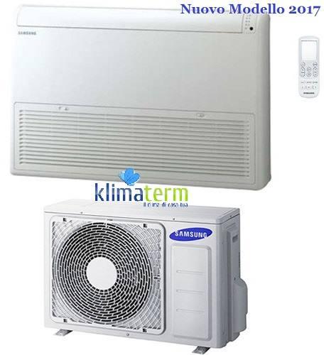 Climatizzatore Condizionatore Samsung LINEA COMMERCIALE Pavimento/Soffitto 18000 BTU AC052MNCDKH INVERTER classe A++/A