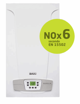 Caldaia Baxi ECO 5 BLUE camera aperta 24 kw Low Nox 6 Ultimo modello METANO