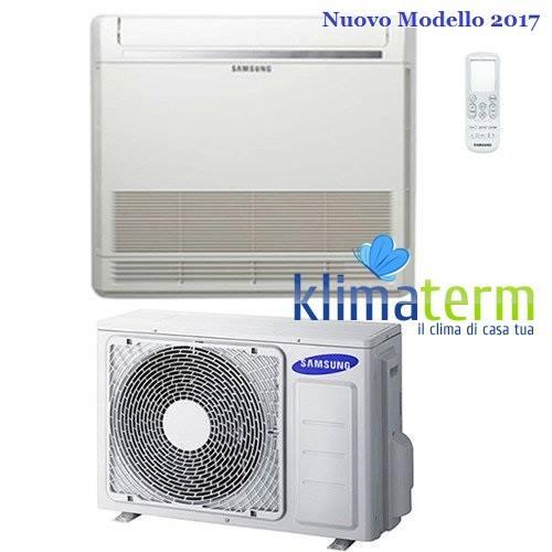 Climatizzatore Condizionatore Samsung LINEA COMMERCIALE Pavimento Console 12000 BTU AC035MNJDKH INVERTER classe A++/A++ Nuovo Modello 2017
