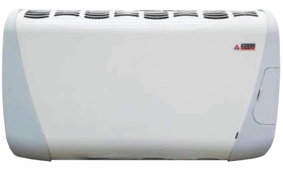 Radiatore stufa a gas Accorroni mod. GHIBLI 4 ELITE 3,35 kw a Camera stagna Tiraggio forzato Doppia velocità - Ventilazione SILENZIOSA! Pannello COMANDI anteriore. Metano e GPL