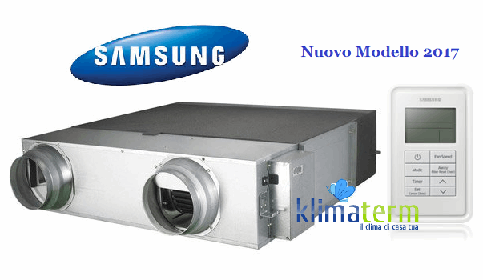 Recuperatore di calore Mod. AN080JSKLKN-EU ERV Samsung portata d
