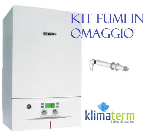 Caldaia a Condensazione CONDENS 2000W 24Kw Nuova Tecnologia ERP Metano NON trasformabile in GPL kit scarico fumi in Omaggio!!!!