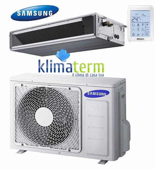 Climatizzatore Condizionatore Samsung LINEA COMMERCIALE Canalizzabile bassa prevalenza 12000 BTU AC035MNLDKH INVERTER classe A+/A+