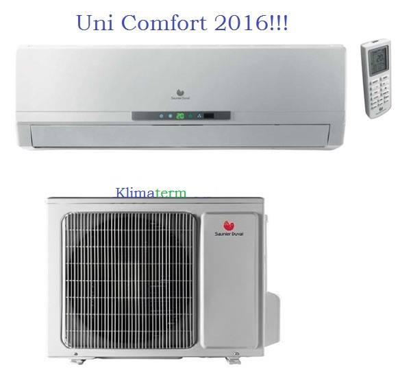 Climatizzatore Condizionatore Hermann Saunier Duval serie SDH17-50 Uni Comfort 18000 btu
