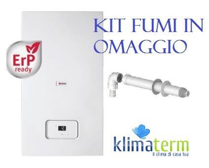 Caldaia A Condensazione MICRA 4 CONDENSING 30 SB Solo Riscaldamento classe A Tecnologia ERP completa kit scarico fumi