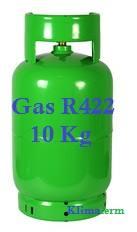 Bombola Gas Refrigerante R422 10Kg