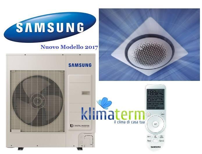 Climatizzatore Condizionatore Samsung LINEA COMMERCIALE Cassetta circolare 360 Gradi 42000 BTU AC120MN4PKH INVERTER classe A+/A+ NUOVO MODELLO 2017