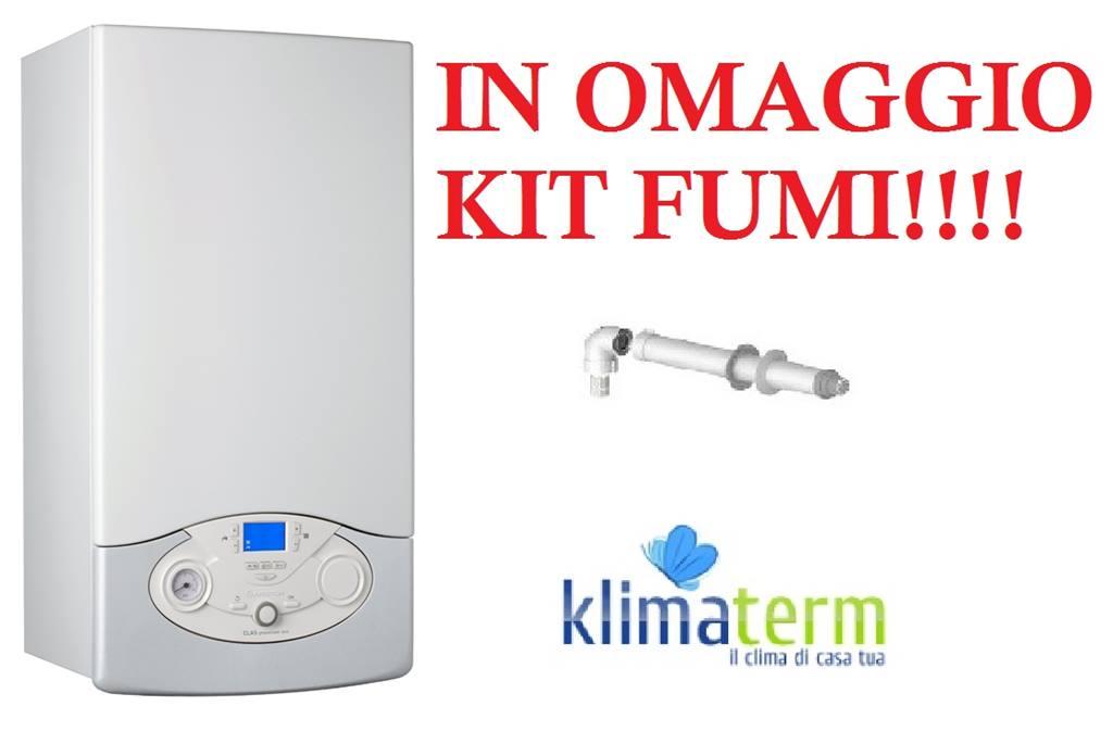 Caldaia a Condensazione Ariston Clas Premium evo eu 35 ff  nuova tecnologia ERP + kit scarico fumi in OMAGGIO!!!!