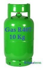 Bombola Gas Refrigerante R407 10Kg