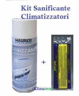 Kit Sanificante climatizzatori Igienizzante+Pastiglie
