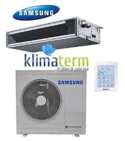 Climatizzatore Condizionatore Samsung LINEA COMMERCIALE Canalizzabile bassa prevalenza 24000 BTU AC071MNLDKH INVERTER classe A+/A