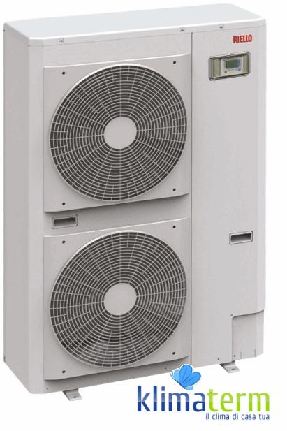 Pompa di Calore Inverter Riello ad alto rendimento aria-acqua monoblocco Nexpolar 015 ME Classe A++ Codice 20099398 Monofase