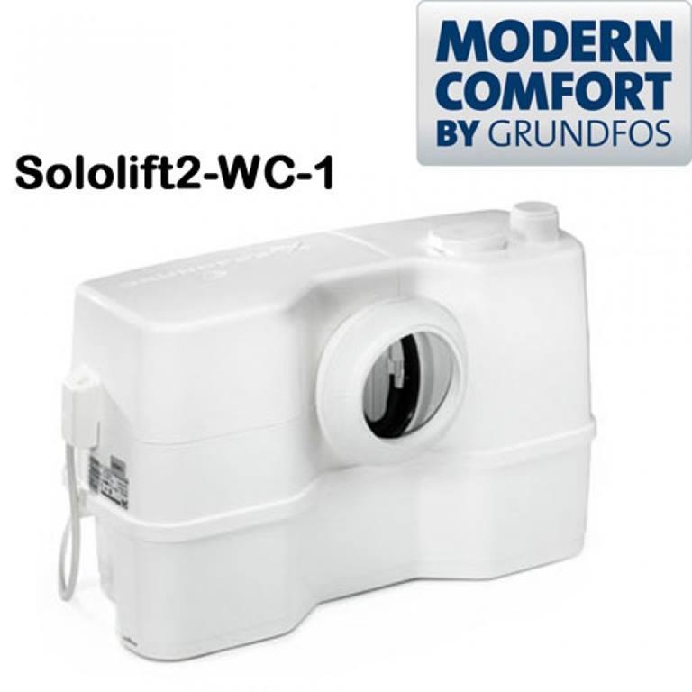 GRUNDFOS STAZIONE DI SOLLEVAMENTO TRITURATORE modello: SOLOLIFT2 WC-1