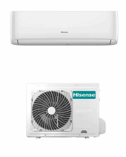 Hisense Climatizzatore Condizionatore monosplit mod. EASY SMART 12000 btu CA35YR03G gas R32 Predisposizione WIFI Inverter Pompa di calore Ultimo modello 2021