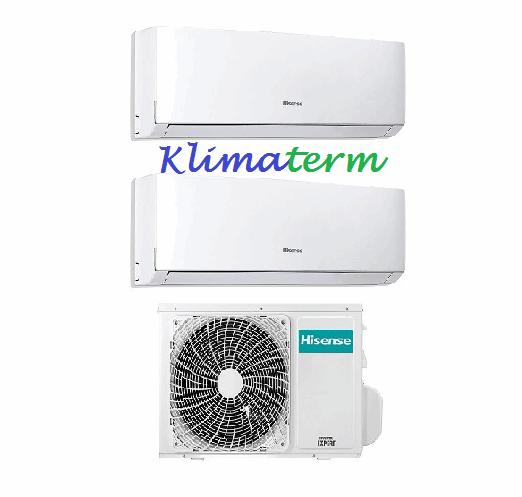 Climatizzatore Condizionatore HISENSE NUOVA SERIE COMFORT 12+12 U.E.20000 Dual Split Inverter Classe A++