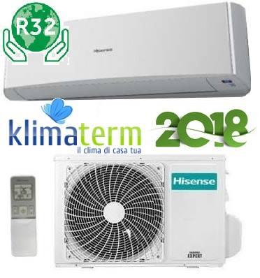 Climatizzatore Condizionatore Hisense serie NEW ECO EASY 9000 btu Monosplit TE25YD01G Inverter Classe A++ Gas R32 - Nuovo Modello 2018