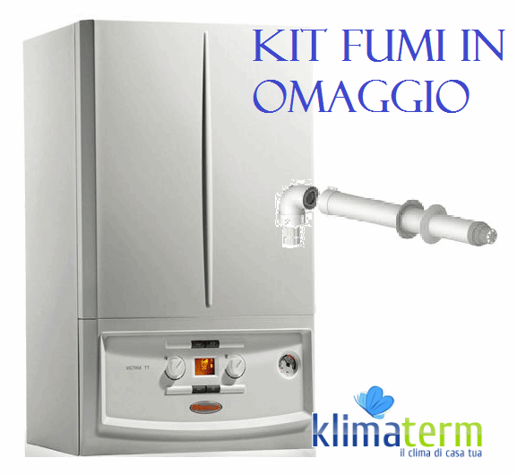 Caldaia Victrix TT 35 Kw a Condensazione METANO Completa di Kit Scarico Fumi in Omaggio
