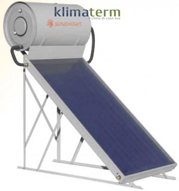 Kit Pannello Solare Circolazione Naturale : Sonnenkraft kit sistema solare ts e a circolazione