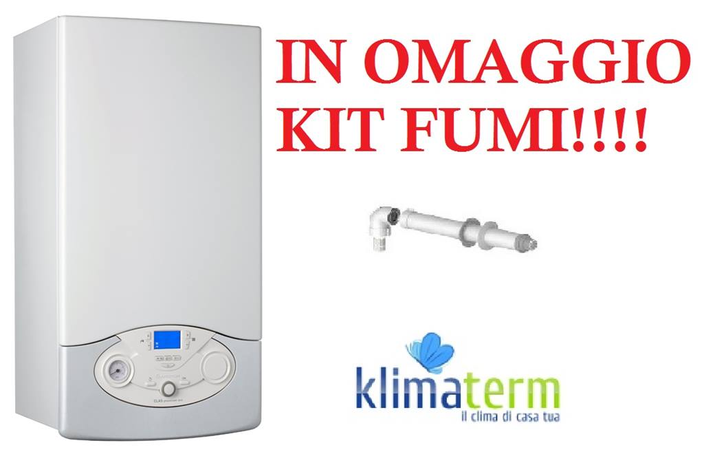 Caldaia a Condensazione Ariston Clas Premium evo eu 24 ff  nuova tecnologia ERP + kit scarico fumi in OMAGGIO!!!!!