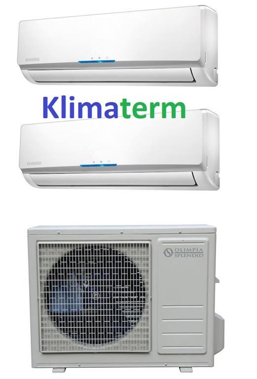Climatizzatore Condizionatore Dual Split Olimpia Splendid Inverter Serie  Nexya S3 9000+12000 Btu Classe A+