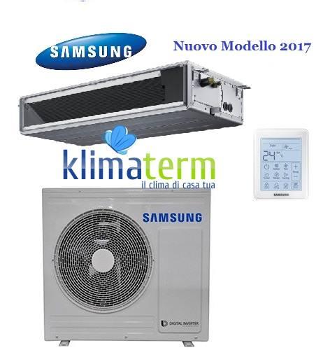 Climatizzatore Condizionatore Samsung  LINEA COMMERCIALE Canalizzabile bassa prevalenza 18000 BTU AC052MNLDKH INVERTER classe A++/A  NUOVI MODELLI 2017