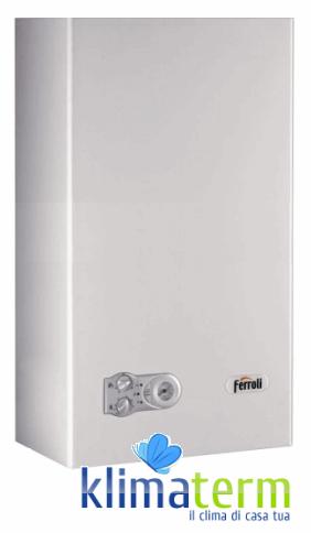 Caldaia Camera Aperta Ferroli DIVAPROJECT C24 nuova tecnologia erp 24 Kw GPL