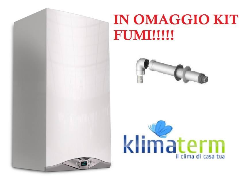 Caldaia a Condensazione Compatta Ariston Cares Premium EU 24 ff nuova tecnologia ERP + kit scarico fumi in OMAGGIO!!!!