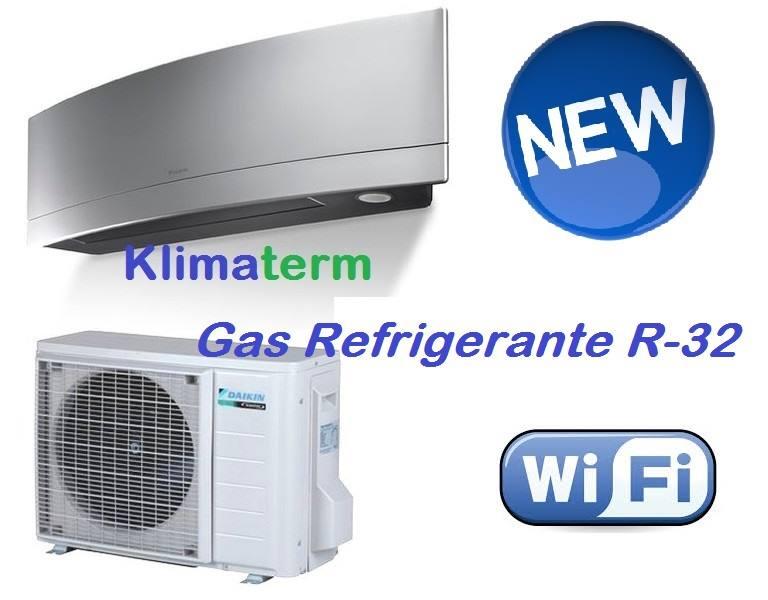 Climatizzatore Daikin Mono Inverter Emura A+++ Silver FTXJ25MS Wi-fi OMAGGIO GARANZIA KIZUNA UFFICIALE DAIKIN ITALIA RADDOPPIA 2+2 TOTALE DI 4 ANNI DI SERENITA