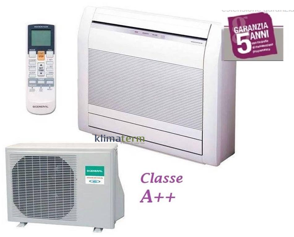Pompa Di Calore Ventilconvettori climatizzatore condizionatore aghg 12lvca 12000 btu console