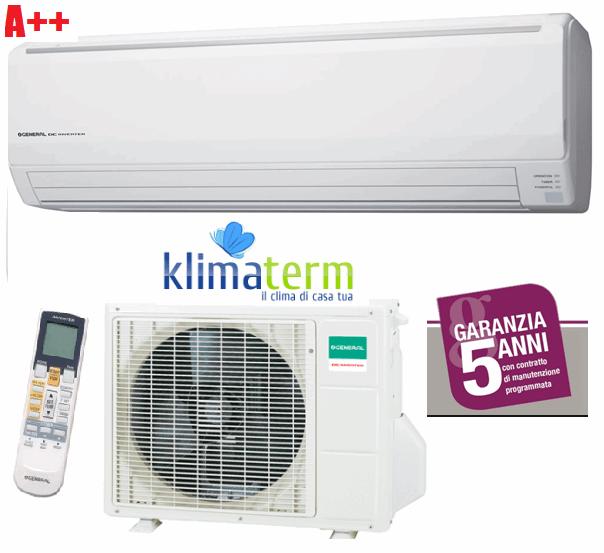 Climatizzatore condizionatore General Fujitsu serie LFCA Mono split ASHG18LFCA + AOHG18LFC 18000 btu bianco classe A++ inverter gas R410A - GARANZIA 5 ANNI!!!