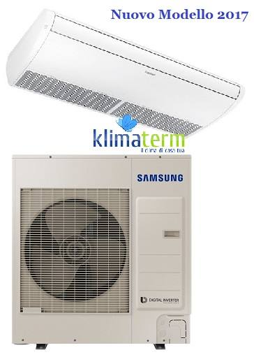 Climatizzatore Condizionatore Samsung LINEA COMMERCIALE Soffitto 42000 BTU AC120MNCDKH INVERTER classe A+/A+